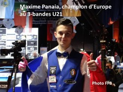 Maxime Panaia champion d'Europe !